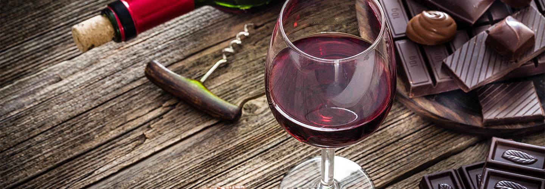 Schokolade & Wein - Ein Fest der Sinne
